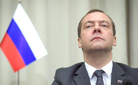 Премьер-министр России Дмитрий Медведев