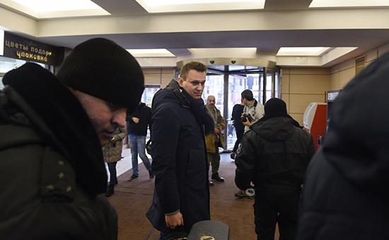 Алексей Навальный в офисе ФБК 31 января 2017 года