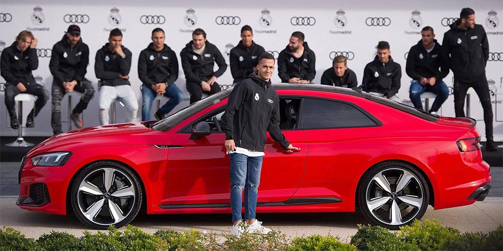 Машины немецких футболистов