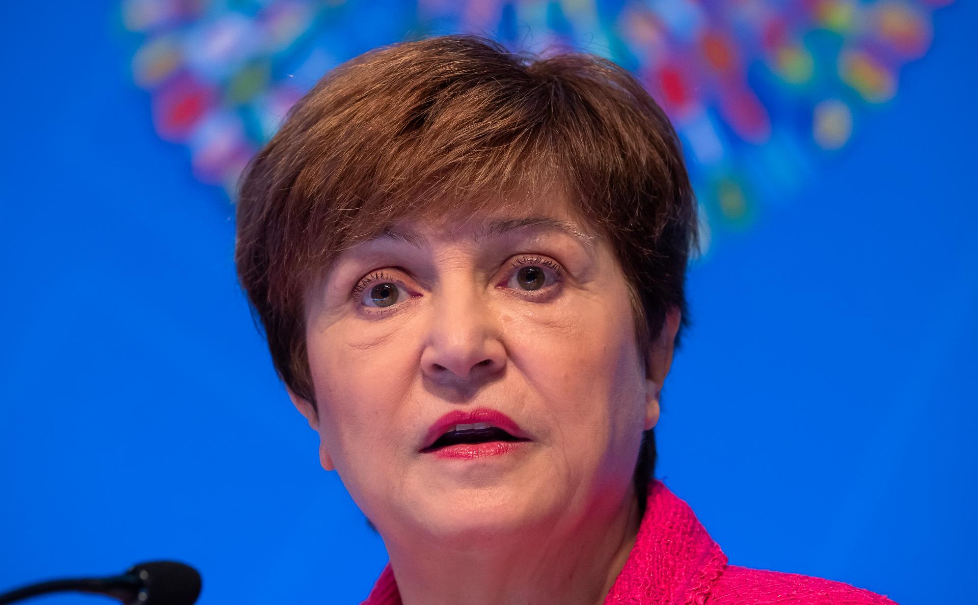 Глава Международного валютного фонда Кристалина Георгиева