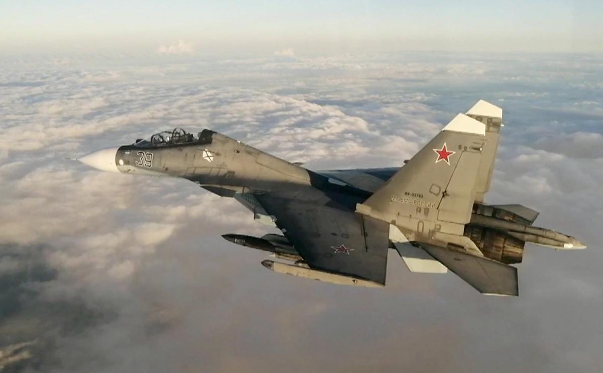Российскийистребитель Су-30