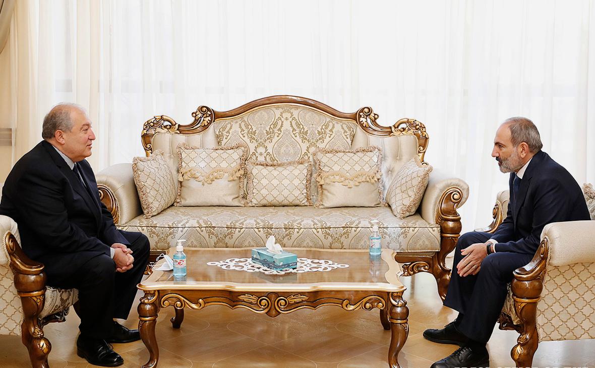 Армен Саркисян и Никол Пашинян
