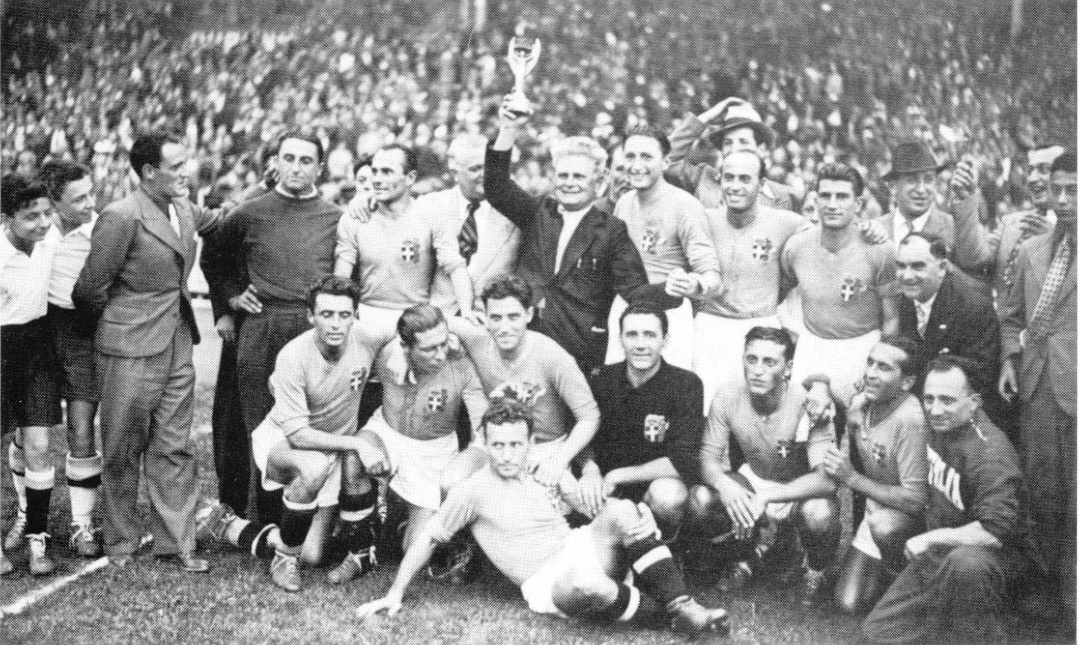 Сборная Италии — чемпион мира 1938 года