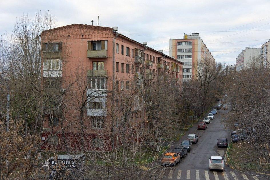 Шестиэтажная хрущевка вМоскве