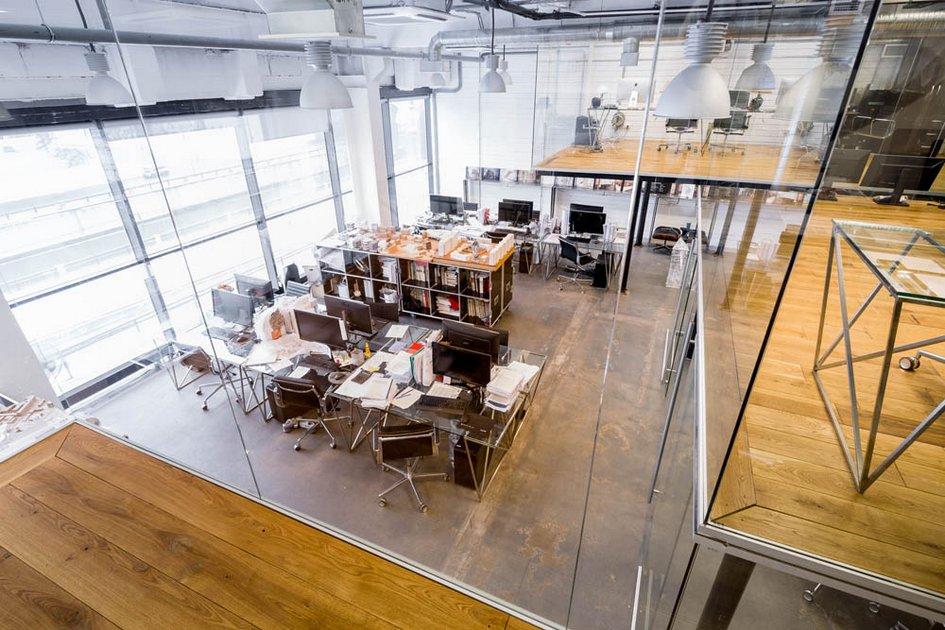 Номинация «Организация пространства» Собственный офис архитектурного бюро Kleinewelt Architekten
