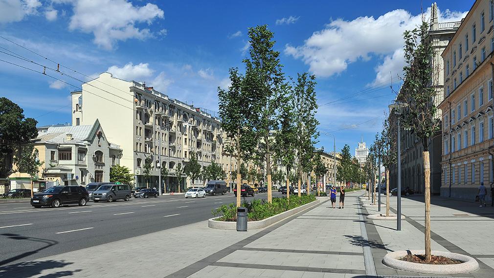 Садовая-Кудринская улица