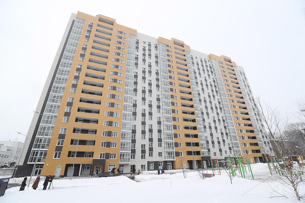 Первый дом для переселения по программе реновации расположен по адресу 5-я Парковая улица, 62б