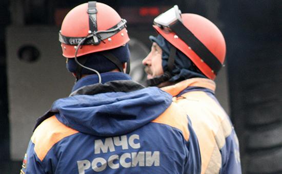 На шахте «Заречная» в Кузбассе произошел пожар