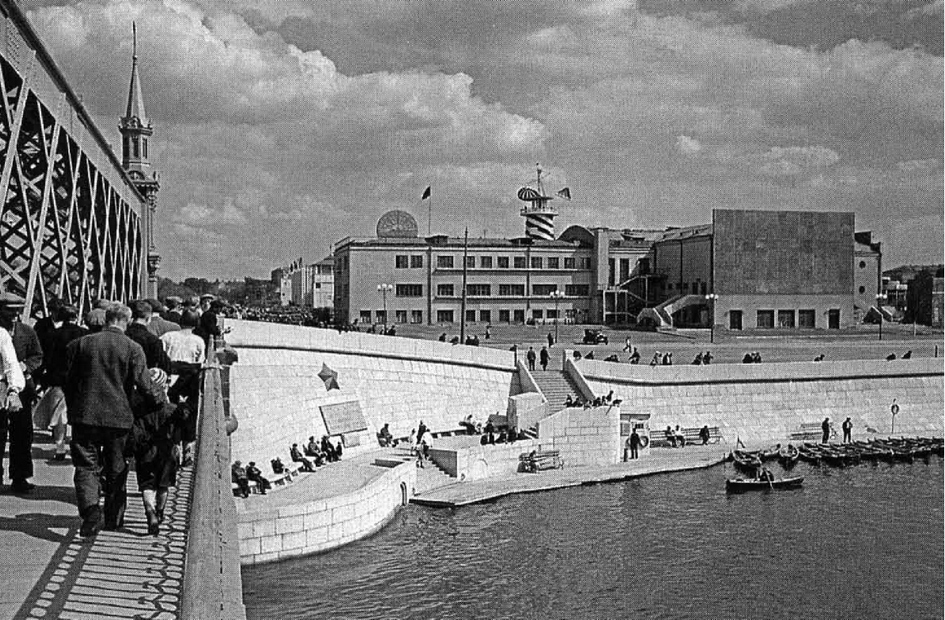 Вид на кинотеатр «Великан». Архивное фото