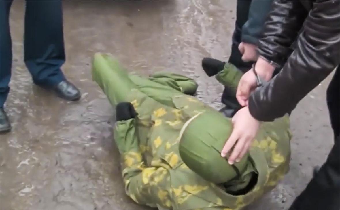 Скриншот из видео Следственного комитетаРоссийской Федерации
