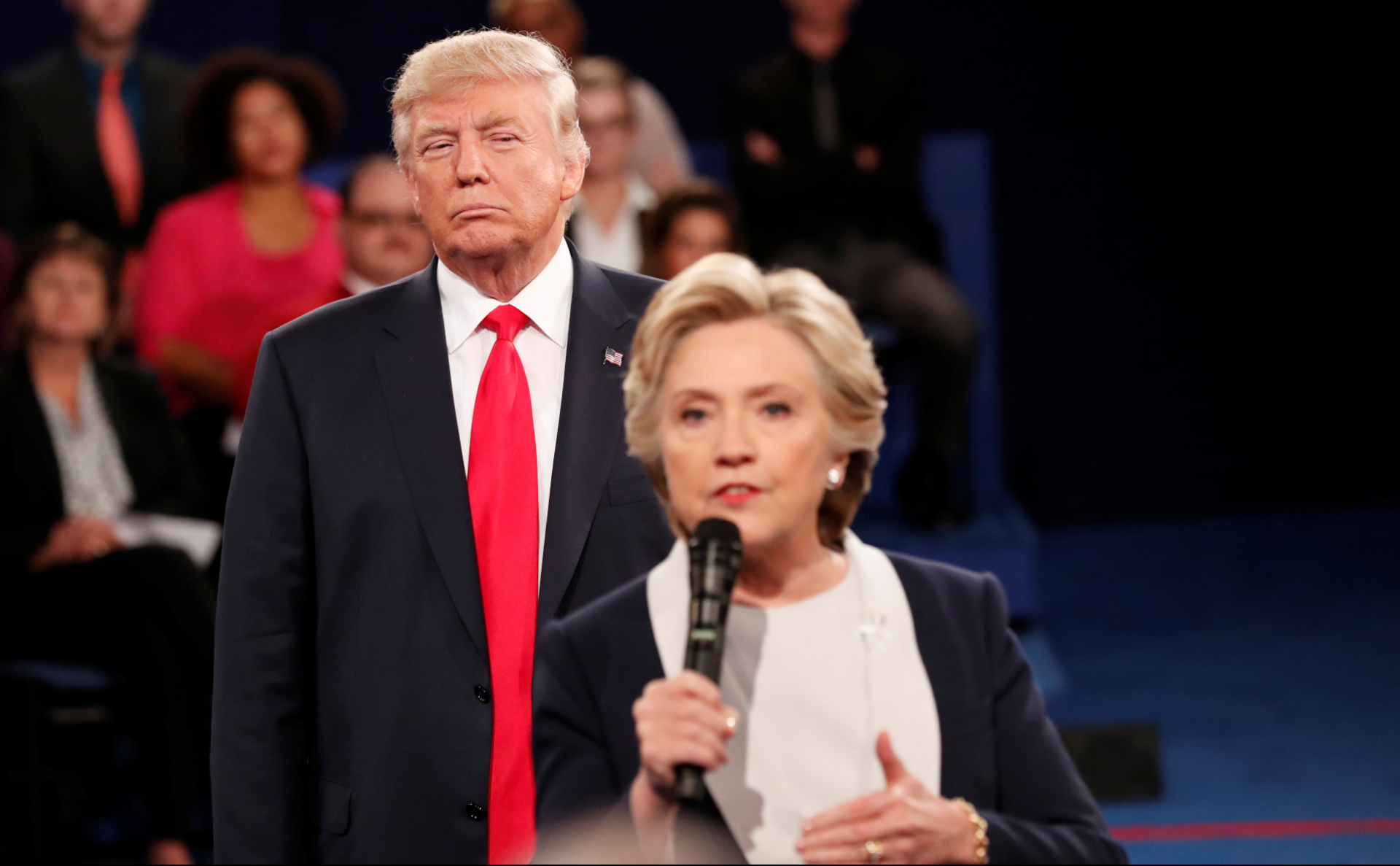 Дональд Трамп иХиллари Клинтон