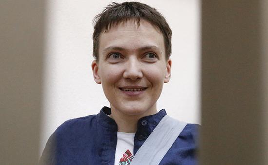 Украинская военнослужащая Надежда Савченко