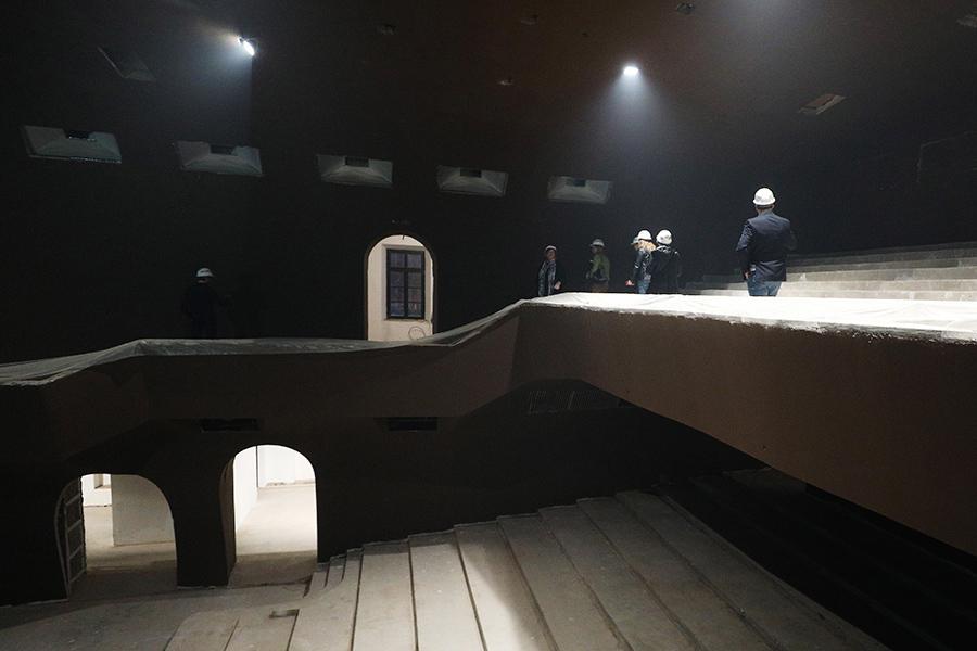 Реконструкция театра «Современник»