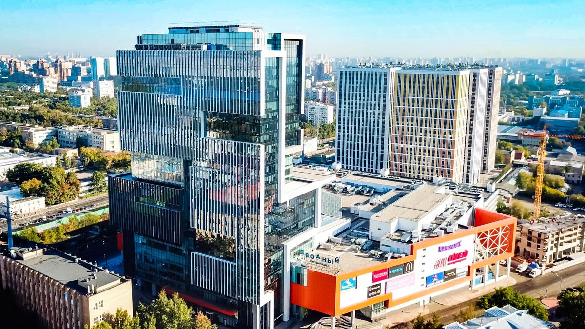 Многофункциональный комплекс «Водный». Москва