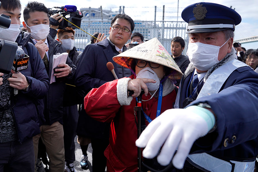 Фото: Toru Hanai / EPA / ТАСС