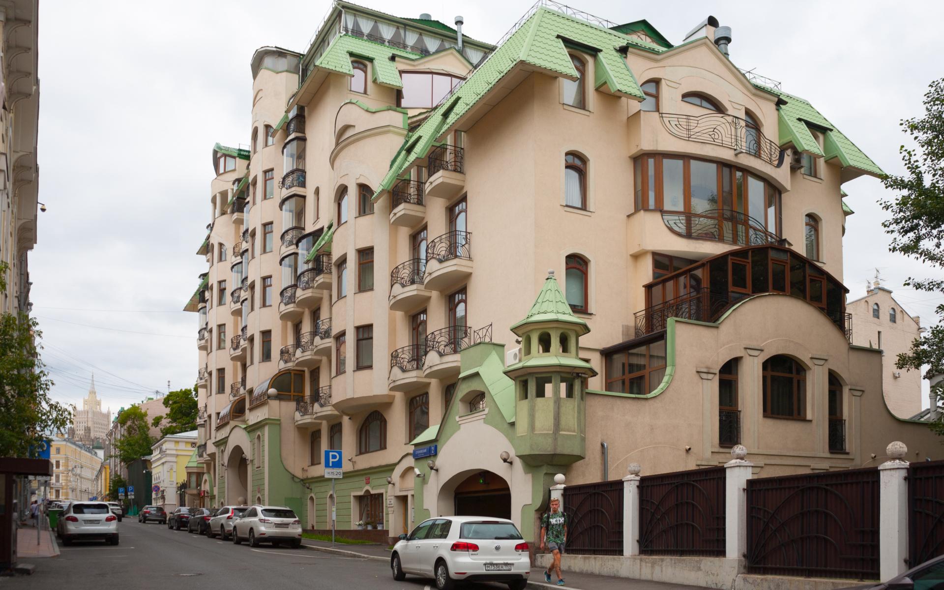 Элитный ЖК в Москве