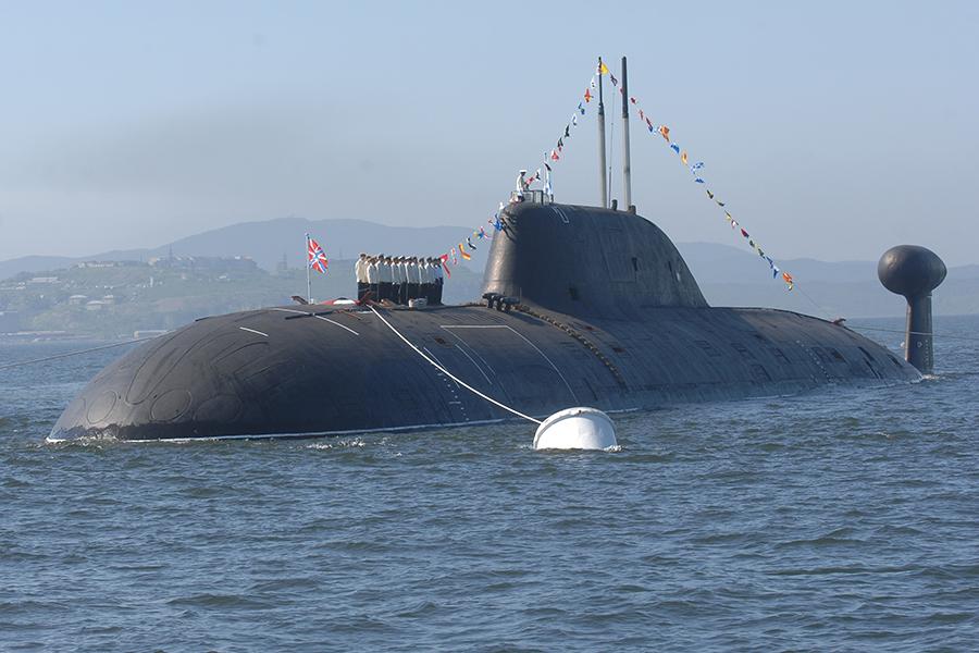 Атомная подводная лодка проекта 971 «Щука-Б», аналогичная АПЛ «Нерпа»