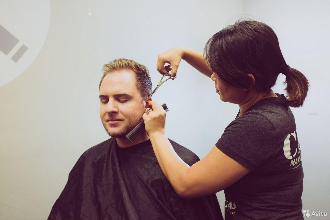 Работа парикмахера на дому