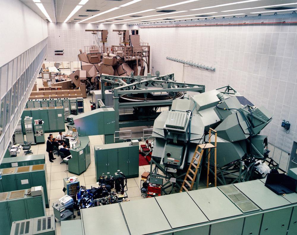 Так выглядел центр по созданию цифровых двойников в NASA
