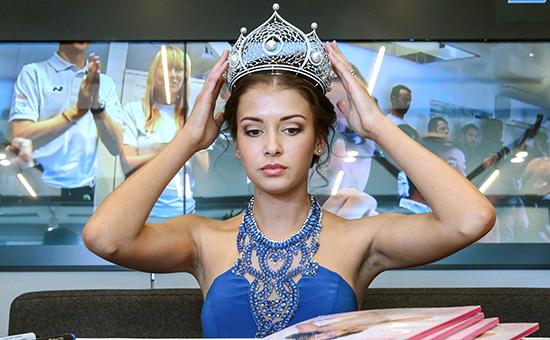 Победительница конкурса «Мисс Россия – 2015» София Никитчук