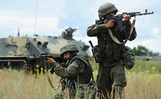 Российские военные учения. Архивное фото