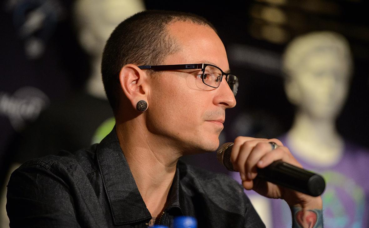 b2f16d26c Честер Беннингтон (Фото: Tsutomu Fujita / Invision for Hard Rock  International / AP). Вокалист американской группы Linkin Park ...