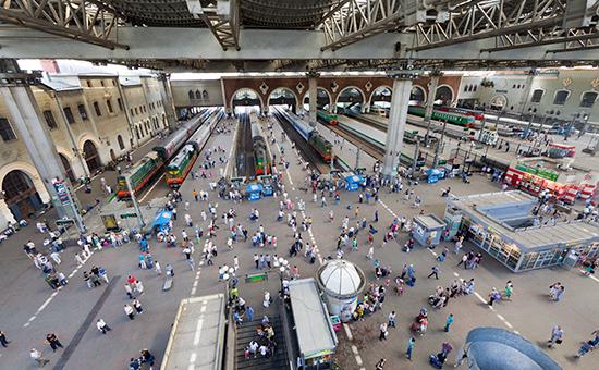 Платформа Казанского вокзала