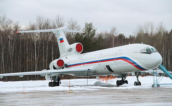 Самолет Ту-154 Минобороны РФ, потерпевший крушение у побережья Сочи