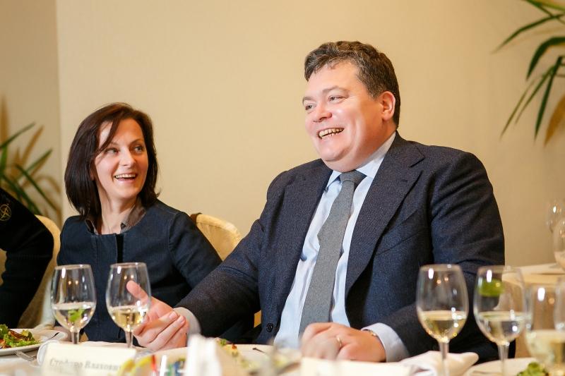 Стефано Влахович, президент Ассоциации иностранных инвесторов Калининградской области и ГК «Продукты питания».