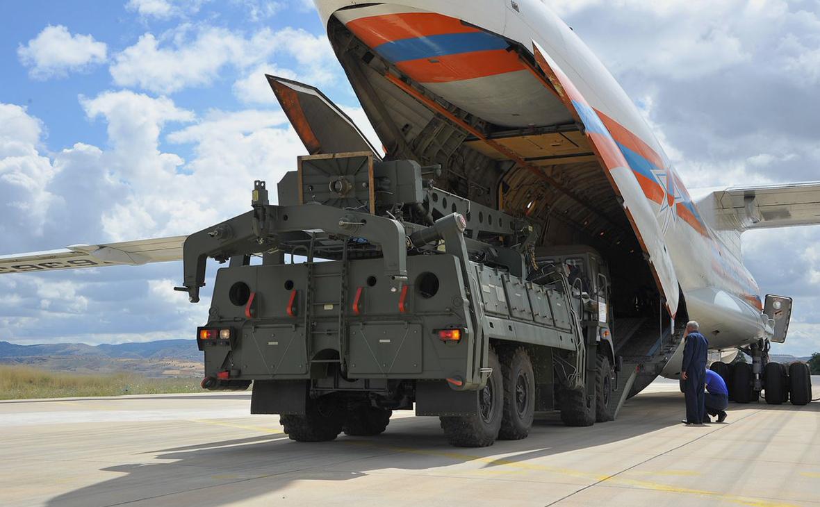 Компоненты зенитно-ракетных комплексов С-400
