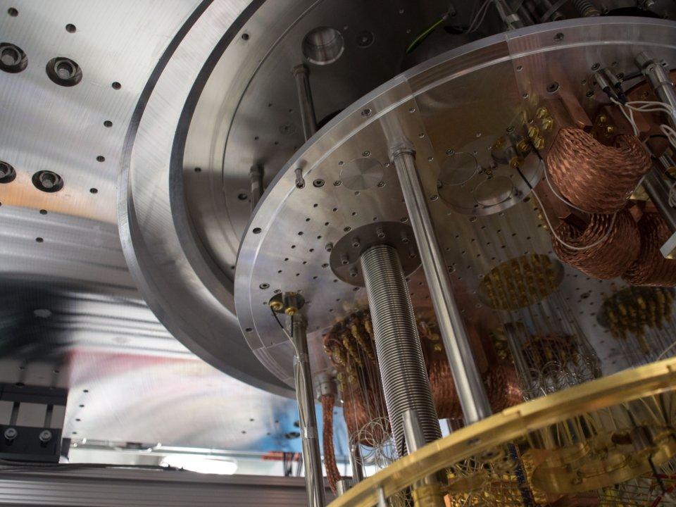 Внутреннее устройство квантового компьютера