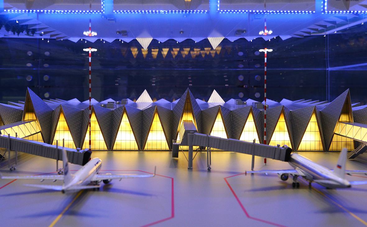 Макет аэропорта «Новый Уренгой»
