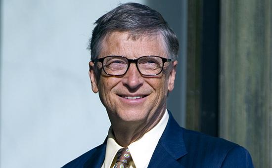 Основатель и председатель совета директоров Microsoft Билл Гейтс
