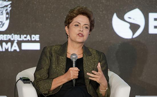 Президент Бразилии ДилмаРуссефф