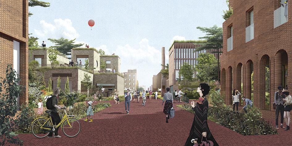 Проект архитектурной группы Citizenstudio, получивший золотой приз