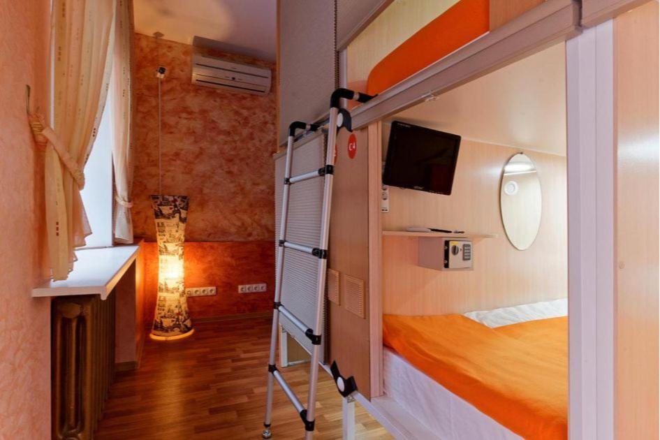 Капсульные отели предназначены для сна и отдыха