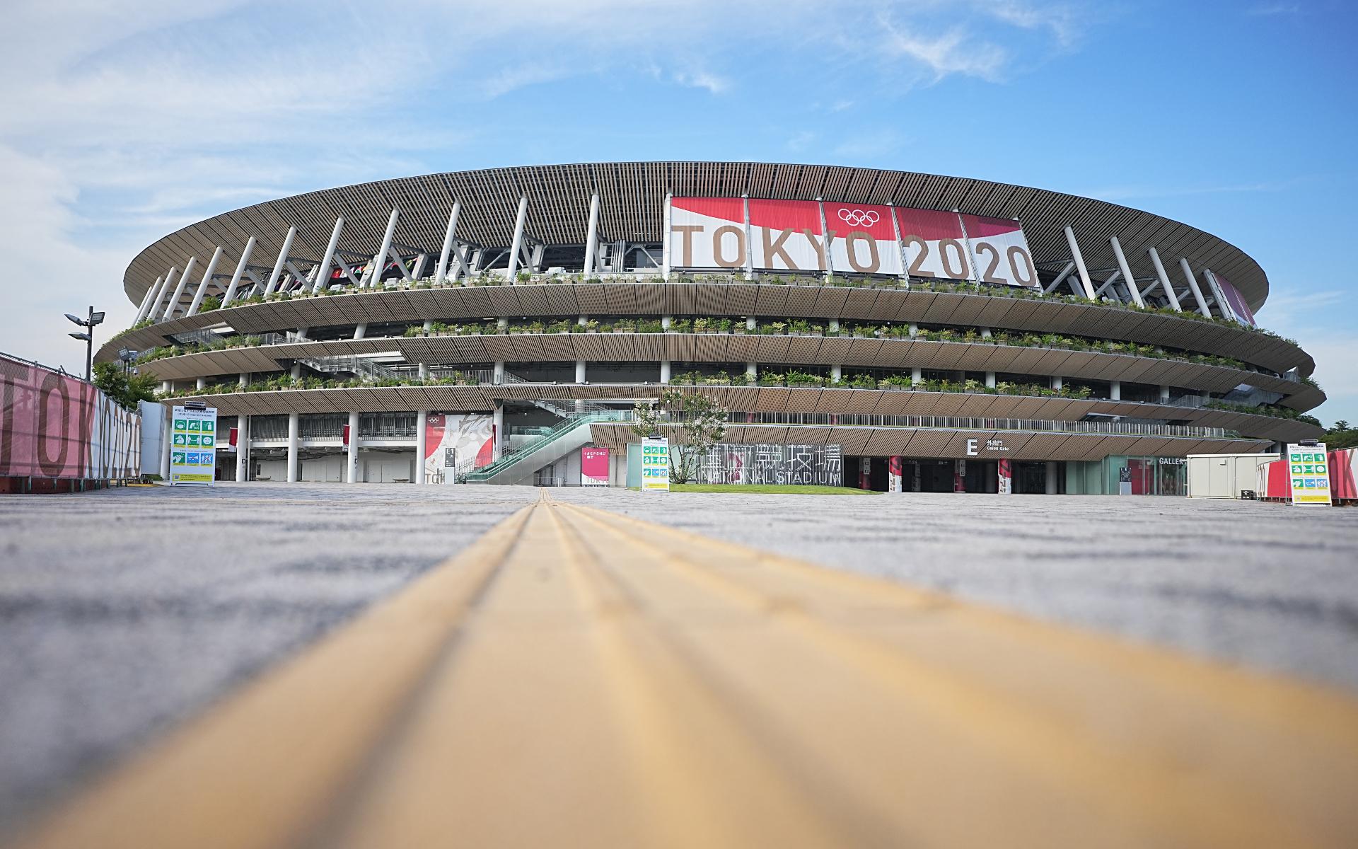 Фото: Олимпийский стадион в Токио (Michael Kappeler/dpa/picture-alliance)