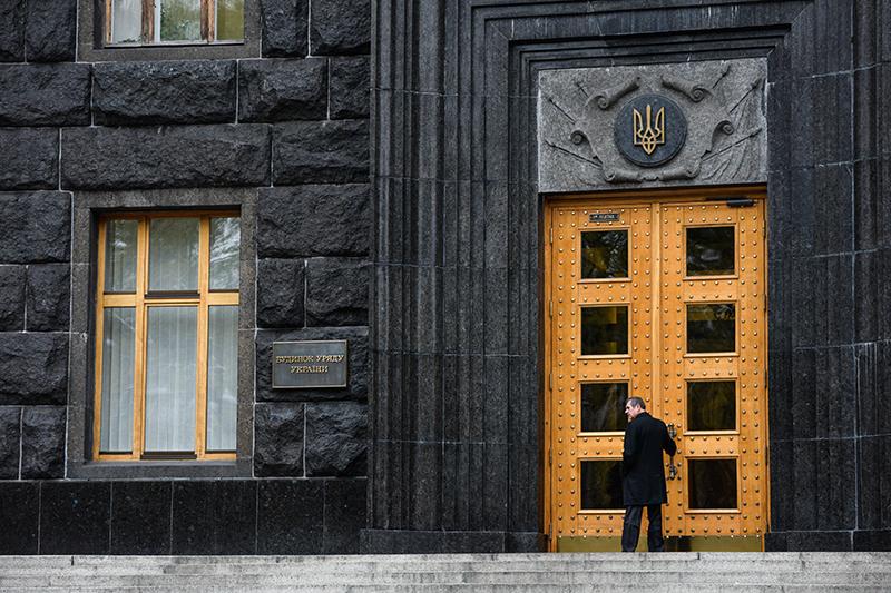 Здание правительства Украины вКиеве