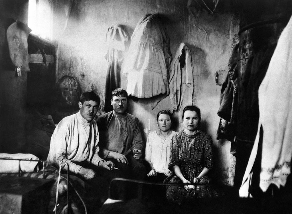 Дореволюционный быт семьи рабочего, 1911 год