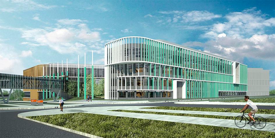 Архитектурный проект Международного медицинского кластера(ММК)