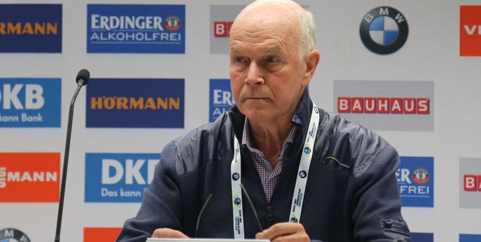 Президент Международного союза биатлонистов (IBU) Андерс Бессеберг