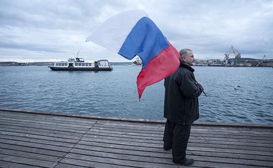 Празднование первой годовщины присоединения Крыма кРоссии