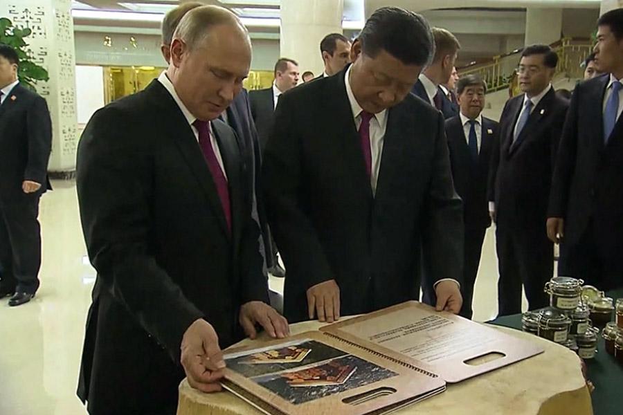 Фото:скриншот с видео НТВ