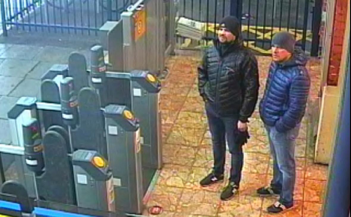 Александр Петров (справа) и Руслан Боширов