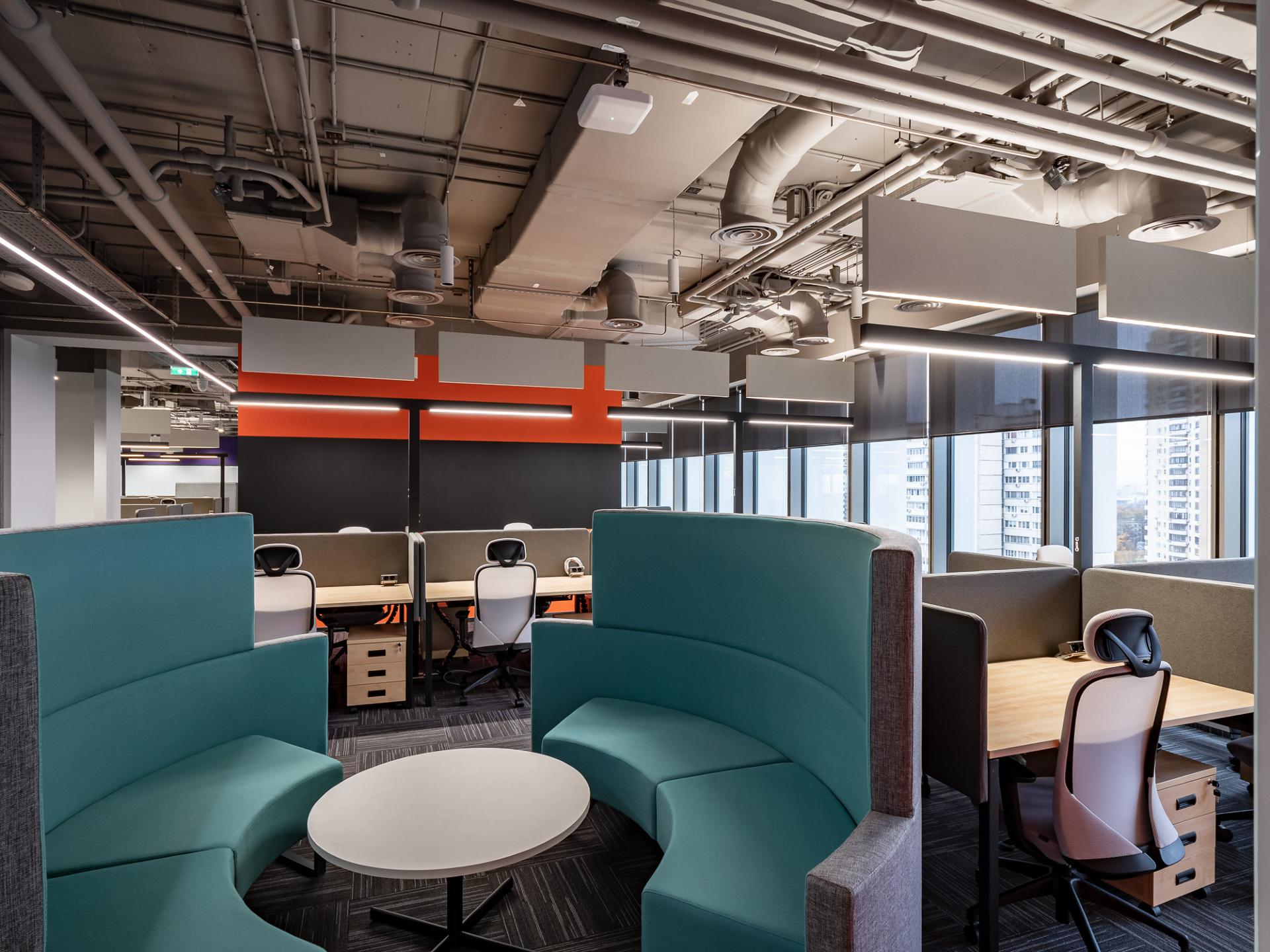 Основным драйвером развития офисных интерьеров в 2020 году выступили банки, проходящие через процесс цифровизации бизнеса