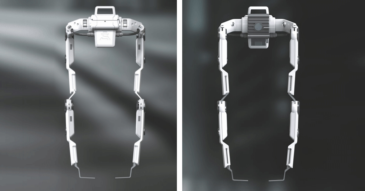 Экзоскелет «Компаньон» с двух сторон