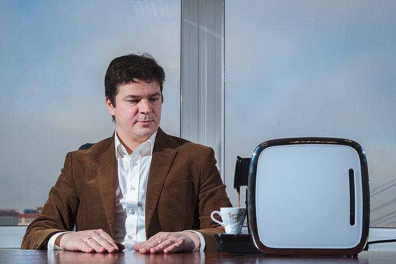 Основатель «Брилль Café» Антон Акифьев