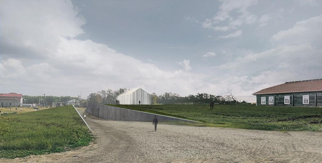 Проект нового здания Соловецкого музея-заповедника