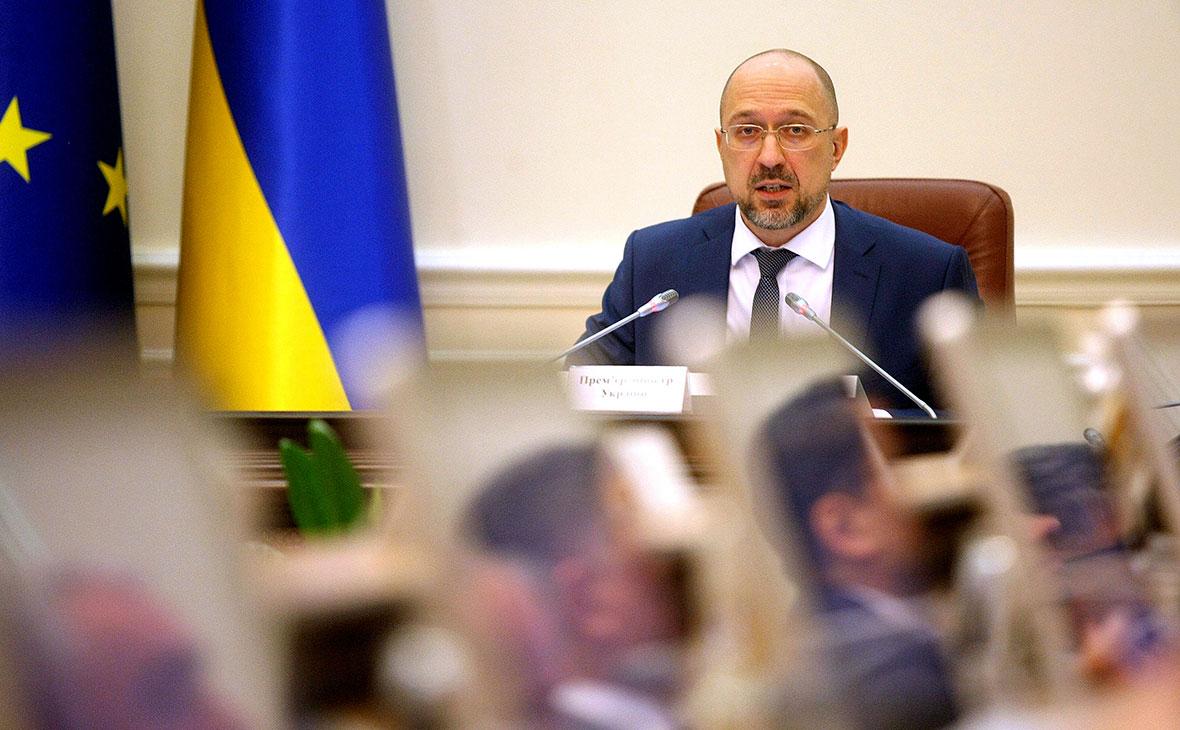 Премьер-министр УкраиныДенис Шмыгаль