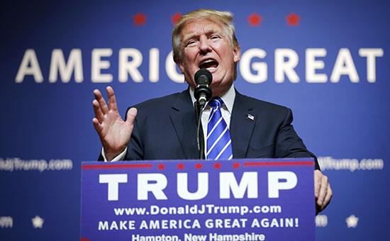 Кандидат на пост президента США Дональд Трамп